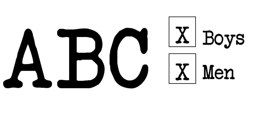 traditional mens monogram 2