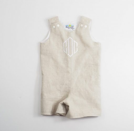 linen baptism outfit for toddlers
