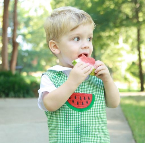 watermelon shirt outfit