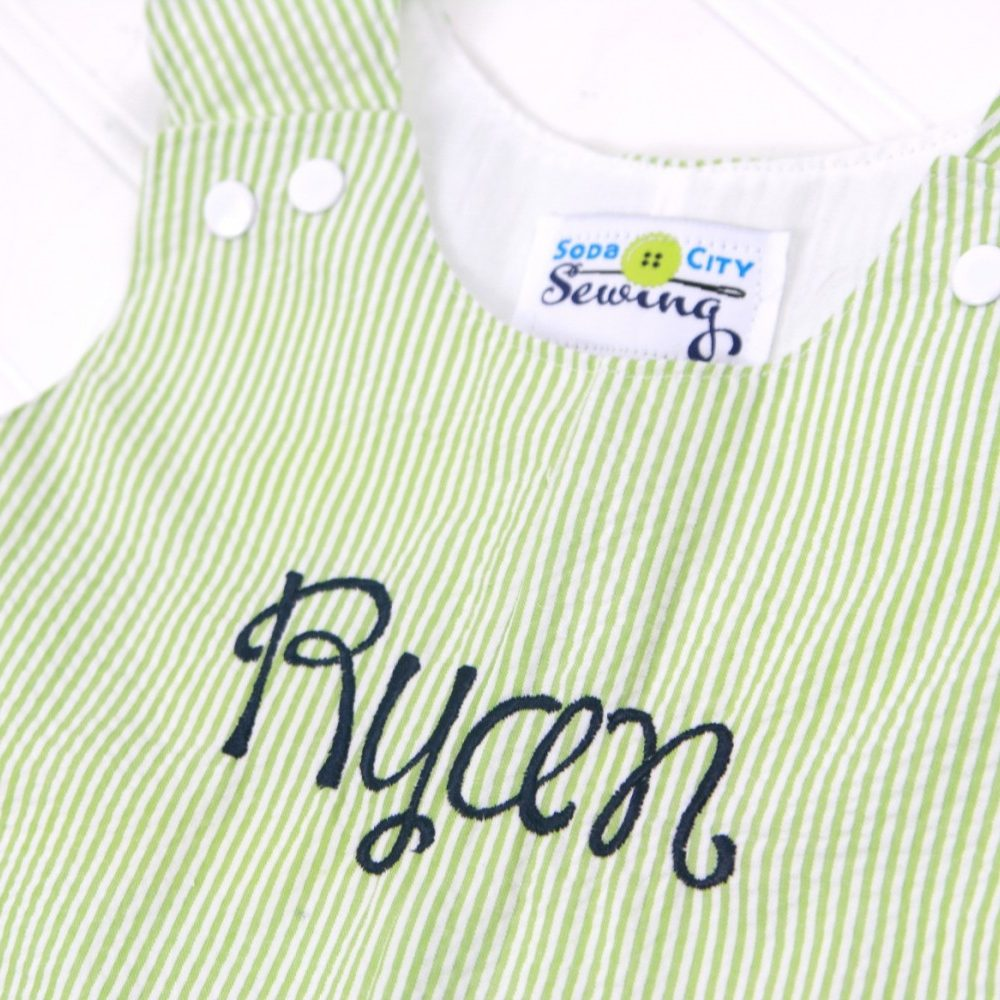 personalized romper for boys