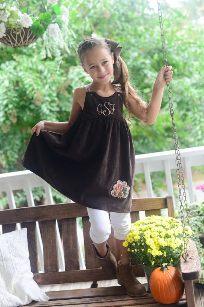 Turkey Dress For Girls