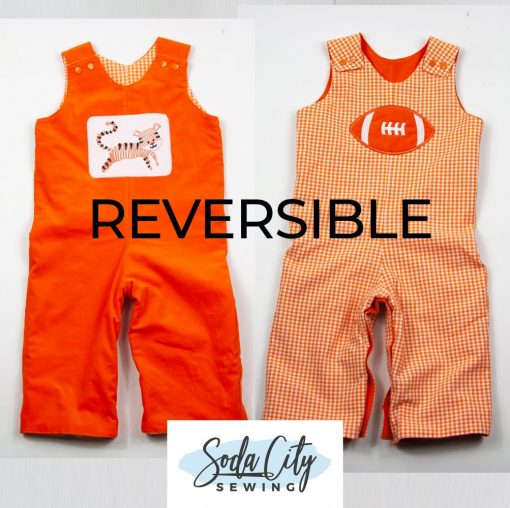 tiger longall reversible overalls