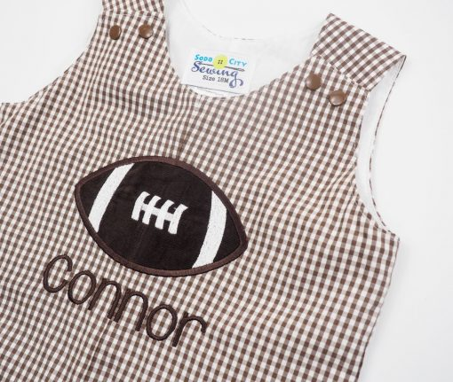 football sports baby shower gift personalized