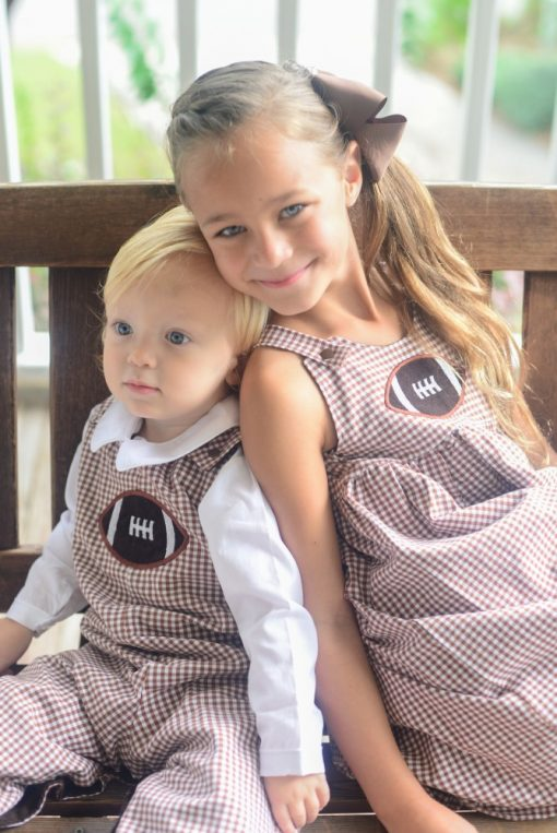 brother sister fall outfits for football season