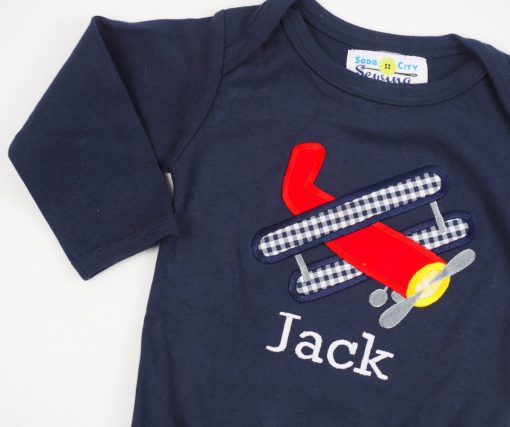 monogrammed baby boy clothes