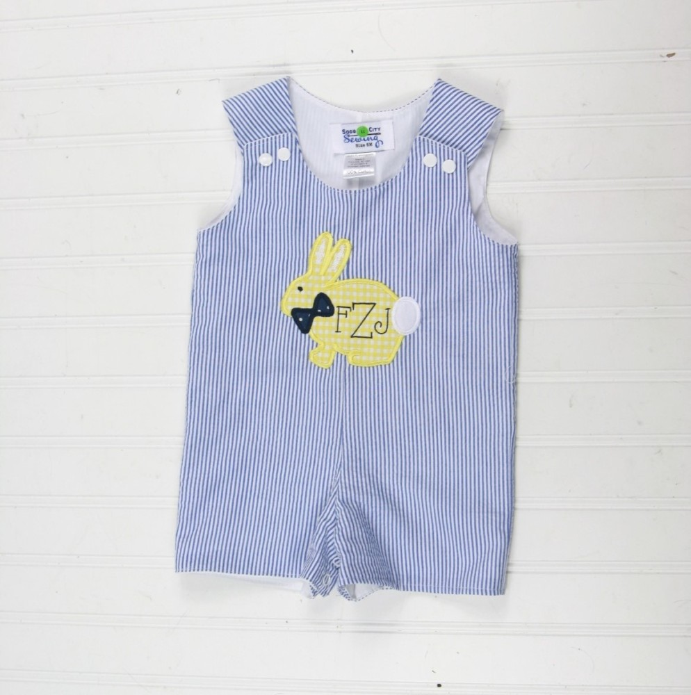9df20271 Easter Bunny Outfit for Boys size NB to 6T, Monogrammed