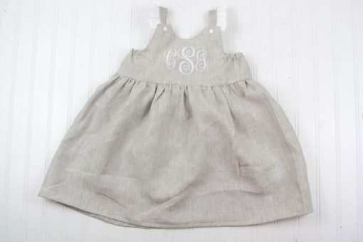 toddler linen dress for weddings