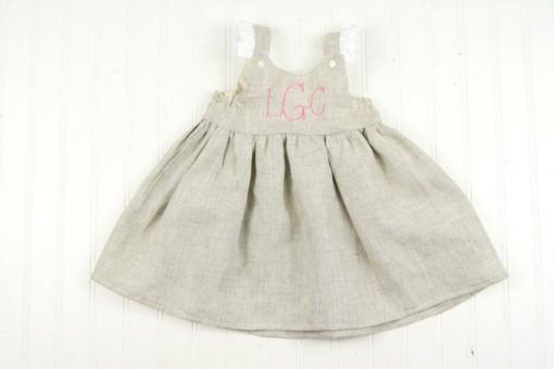 toddler linen dress for easter