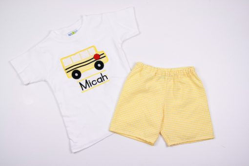 first day of school outfit for toddler boys