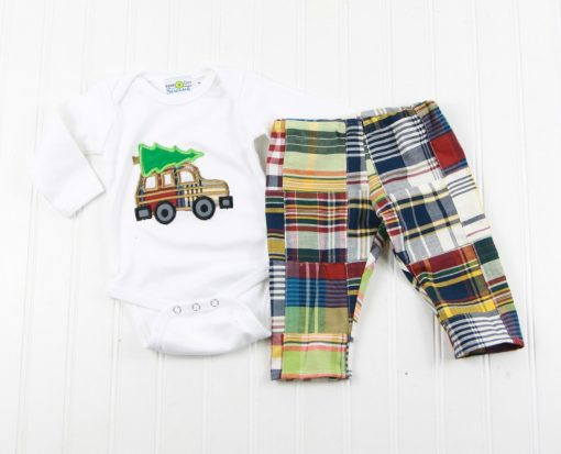 baby boy christmas bodysuit