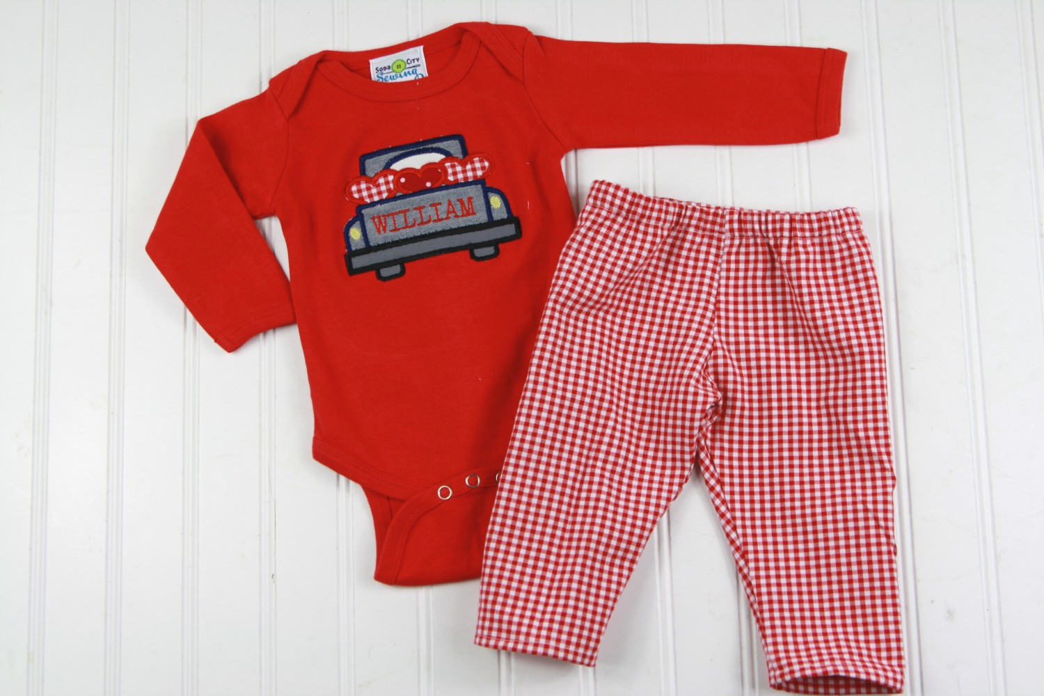 truck with hearts shirt baby boy valentines day outfit