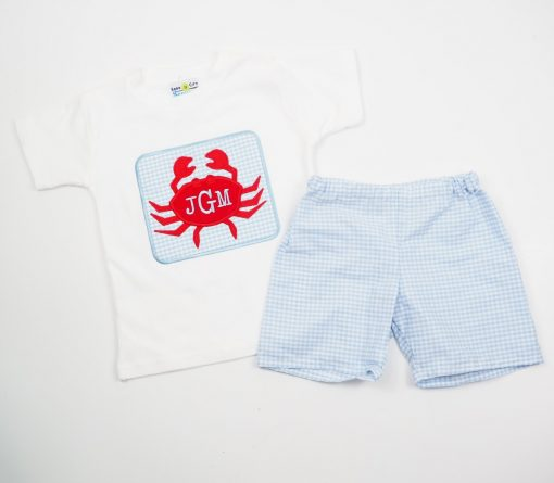 little boys personalized summer clothes