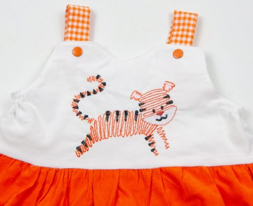 clemson tiger embroidery