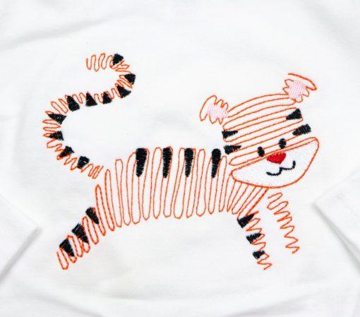 clemson tiger embroidered shirt