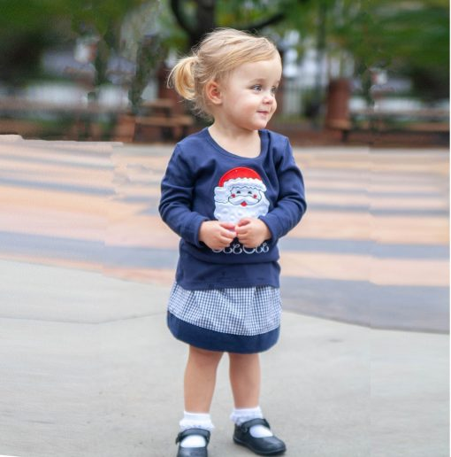 little girls santa outfit