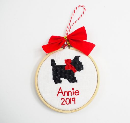 scottie dog ornament