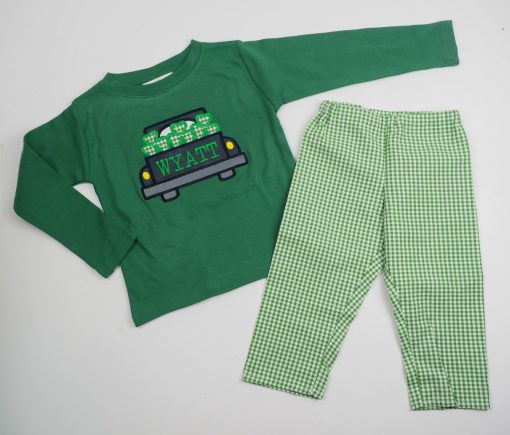 little boy st patricks day outfit