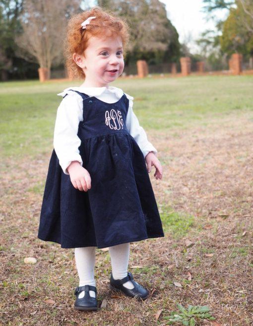twirly winter dress for little girls