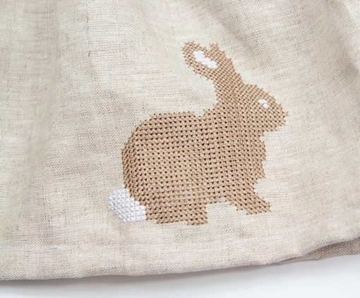 3 cross stitch easter bunny embroidery