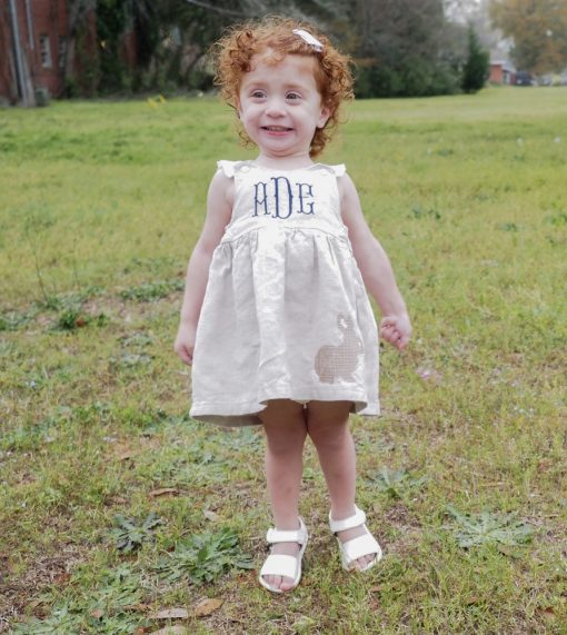 easter dress for girls personalized
