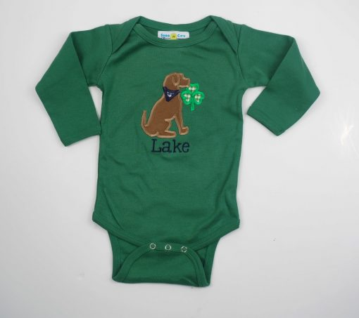 21 personalized st patricks day shirt puppy clover