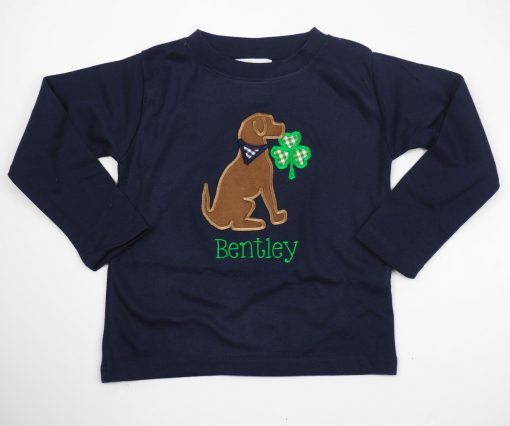 toddler st pattys day shirt personalized