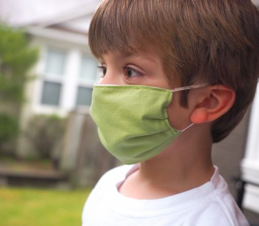 kids face mask solid colors handmade toddler