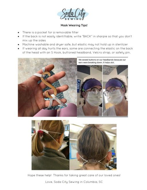 mask wearing tips with pictures handmade