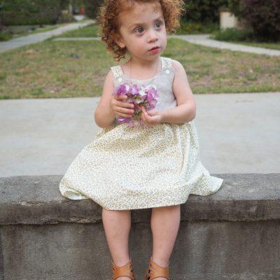 little girls pinafore dress