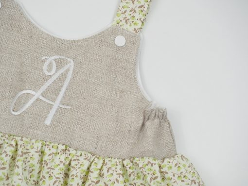 pinafore style dress for girls