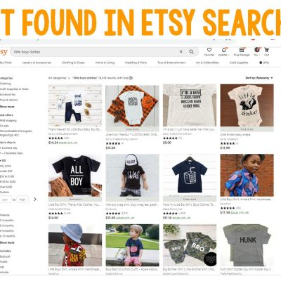 how to get found in etsy search