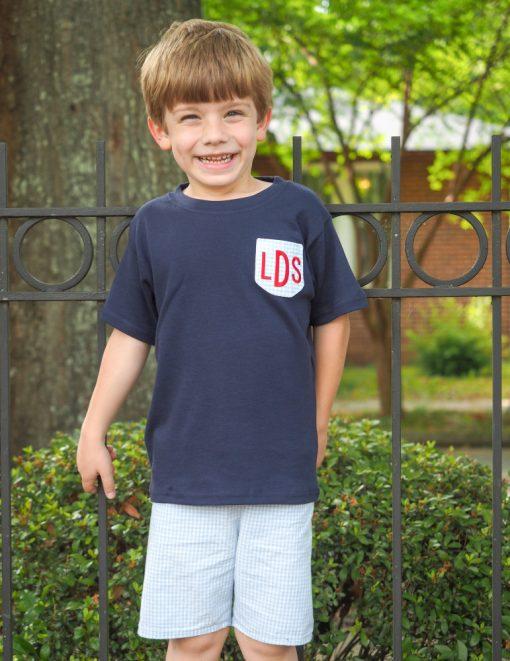 boys pocket shirt