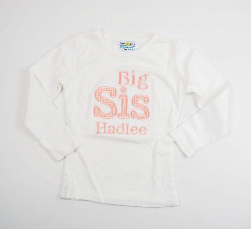 big sister shirt new baby