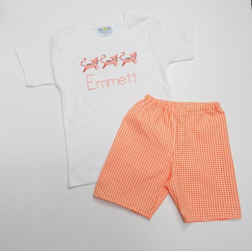 clemson outfit for little boys
