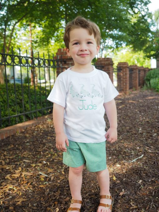 toddler boy clothes with alligator