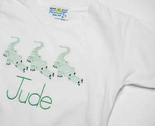 toddler gator shirt for little boys