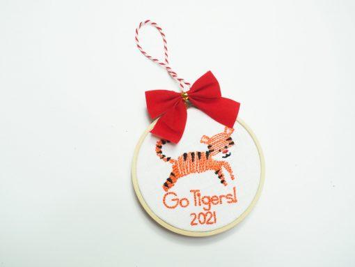 clemson tiger ornament