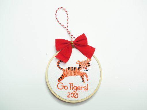 clemson ornament tigers